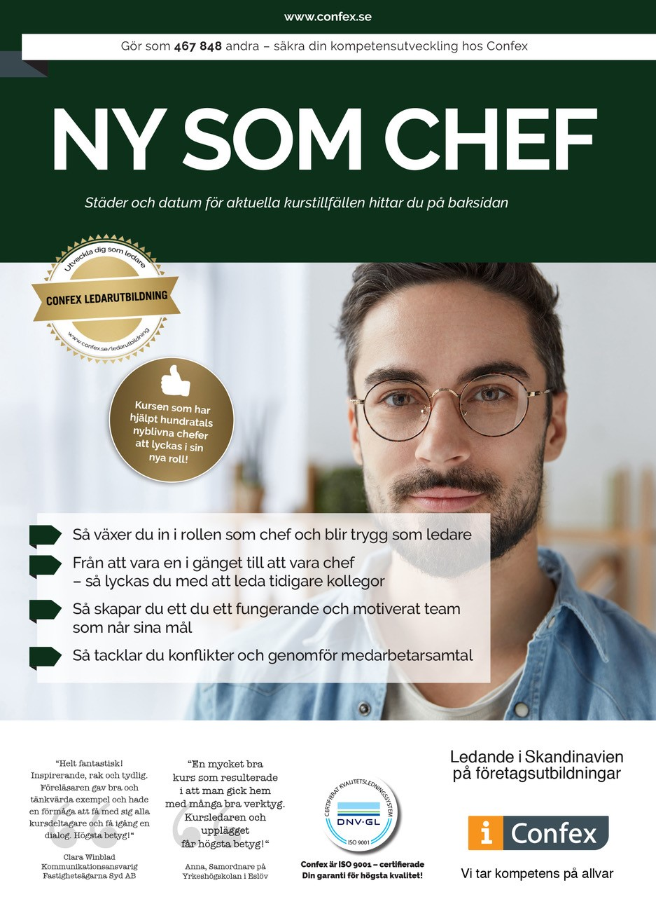 Omslag for Ny som chef