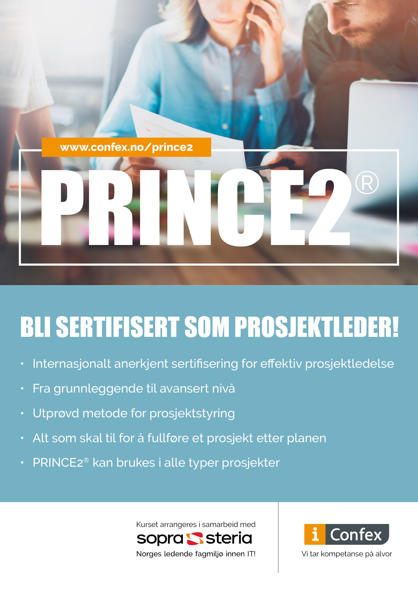 Omslag for PRINCE2® Foundation - klasseromskurs