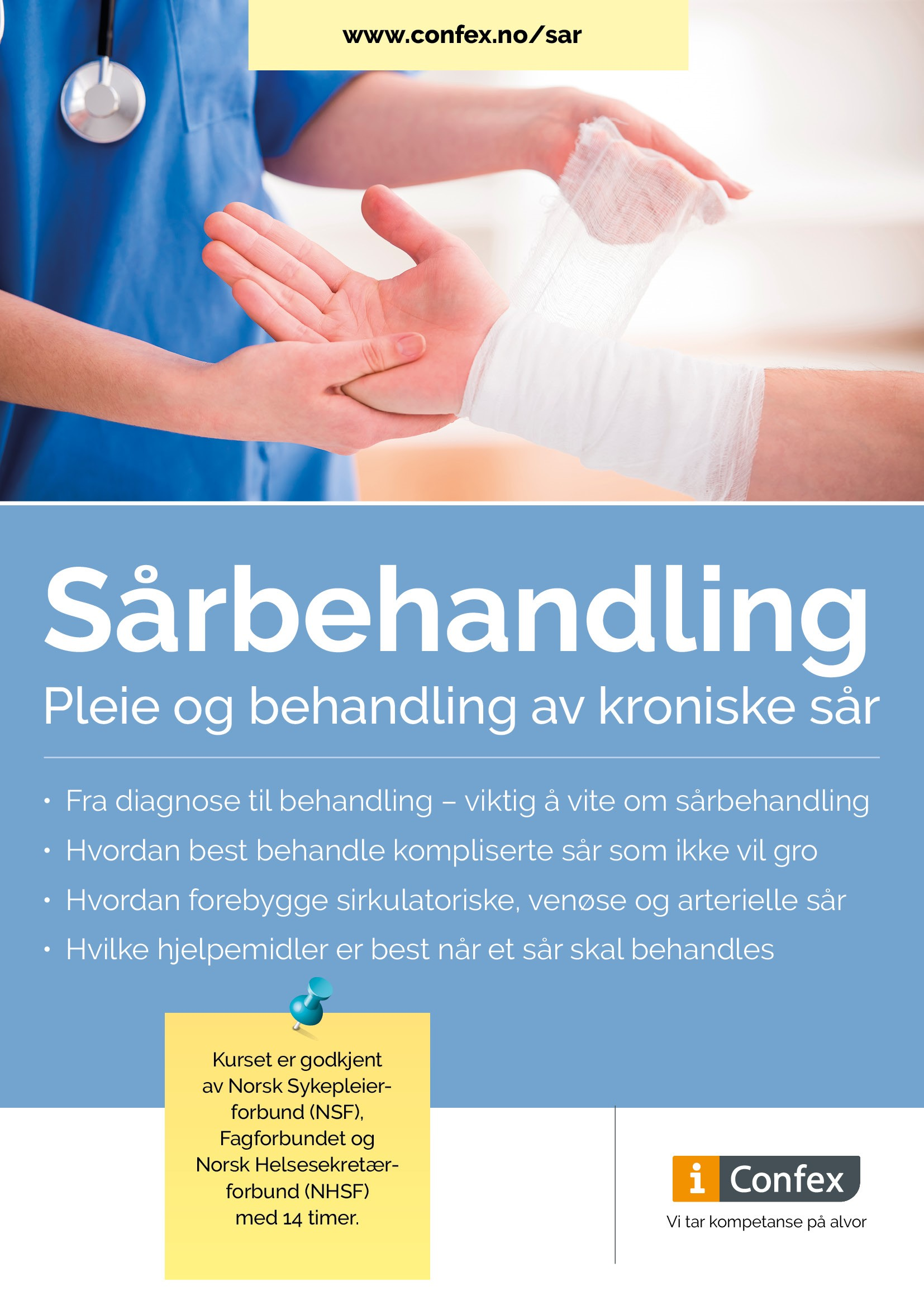 Omslag for Sårbehandling