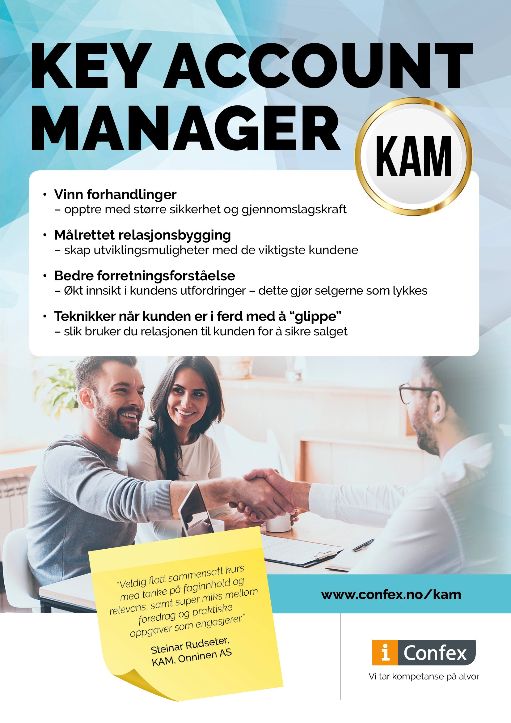 Omslag for Key Account Manager