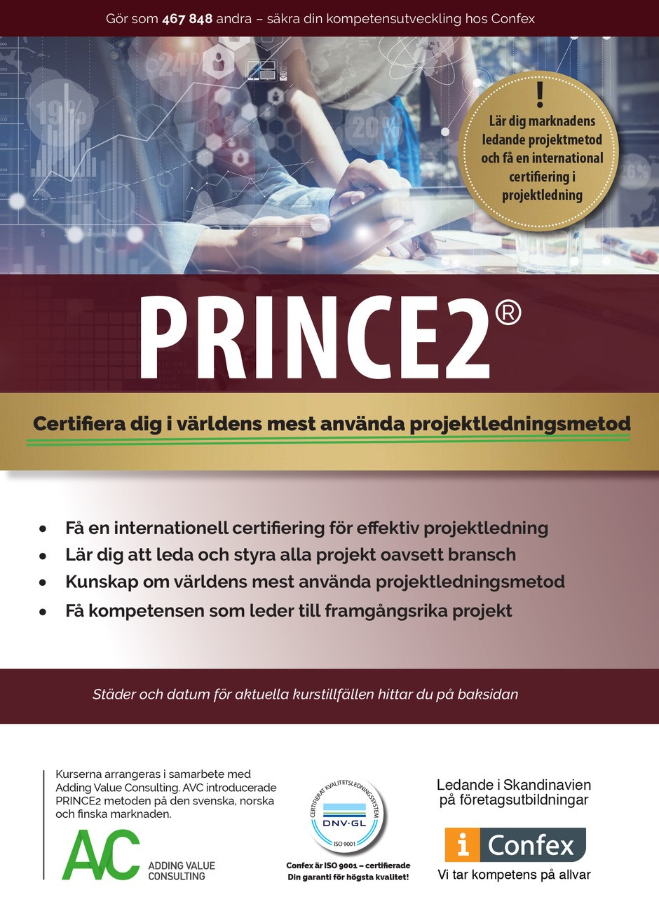 Omslag for PRINCE2® Foundation - klassrumskurs