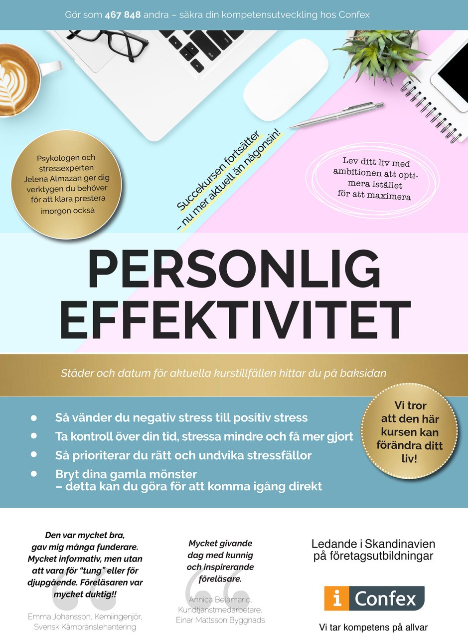 Omslag for Personlig effektivitet